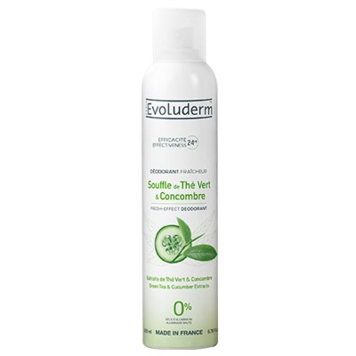 Evoluderm Souffle De The Vert & Concombre Deospray 200 ml
