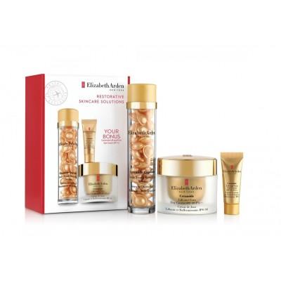 Elizabeth Arden Ceramide Restorative Skincare Solutions Set 50 ml + 15 ml + 30 pcs