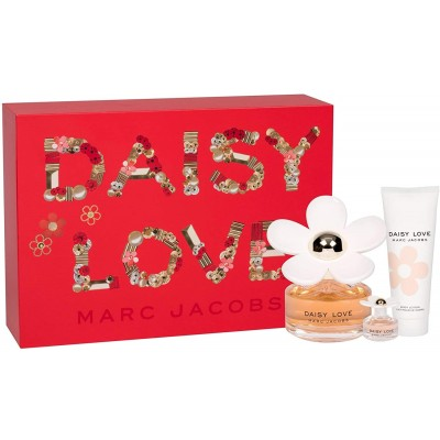 Marc Jacobs Daisy Love EDT & EDT Mini & Body Lotion 100 ml + 4 ml + 75 ml
