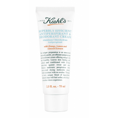 Kiehl's Superbly Efficient Anti-Perspirant & Deo Cream 75 ml