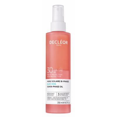 Decleor Sun Bi-Phase Oil Aloe Vera SPF30 200 ml
