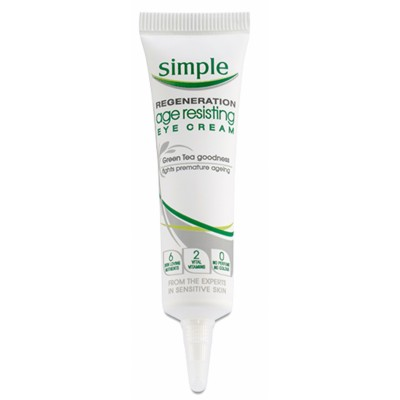 Simple Regeneration Age Resisting Eye Cream 15 ml