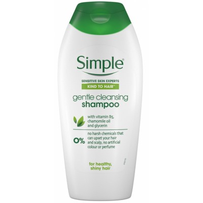 Simple Gentle Cleansing Shampoo 400 ml
