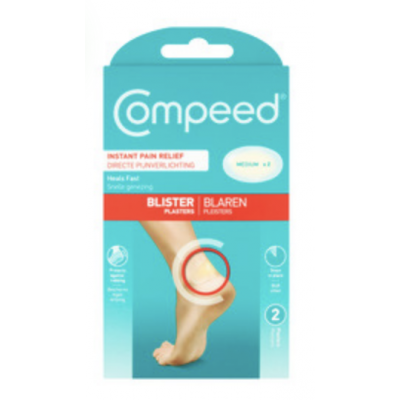 Compeed Blister Plasters Medium 2 stk