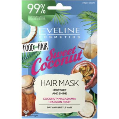 Eveline Sweet Coconut Hair Mask 20 ml