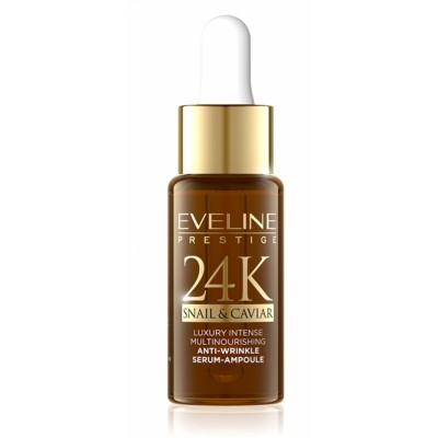 Eveline 24K Snail & Caviar Anti-Wrinkle Serum 18 ml