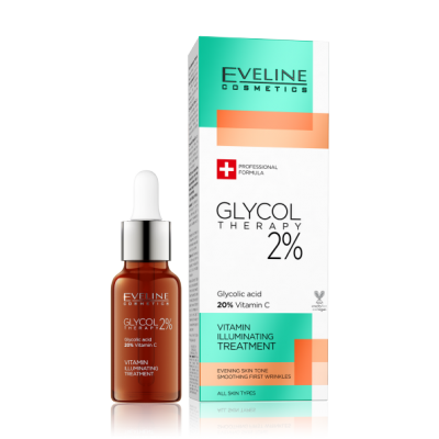 Eveline Glycol Therapy 2% Vitamin Illuminating Treatment 18 ml