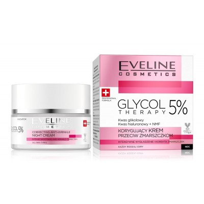 Eveline Glycol Therapy Smoothing & Wrinkle Cream 50 ml