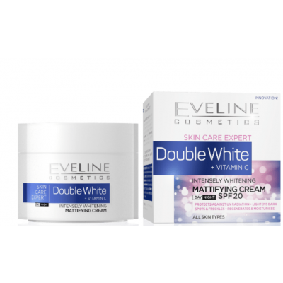 Eveline Double White Mattifying Cream 50 ml