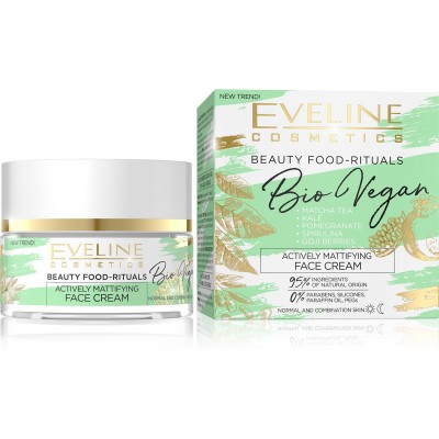 Eveline Bio Vegan Actively Mattifying Face Cream 50 ml