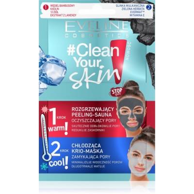 Eveline Clean Your Skin Scrub & Krio Mask 2 x 5 ml