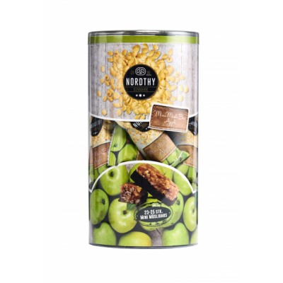Nordthy Mini Müsli Bars Apple Rør 400 g