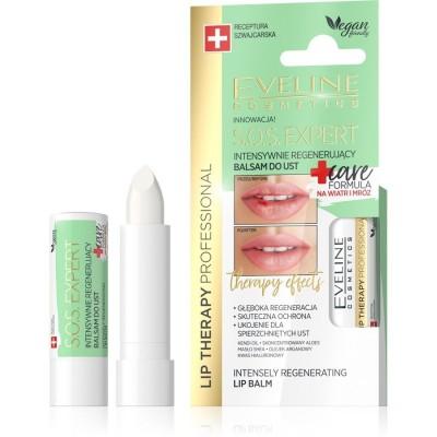 Eveline Lip Therapy S.O.S Expert Regenerating Lip Balm 1 pcs