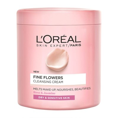 L'Oreal Fine Flowers Cleansing Cream 200 ml