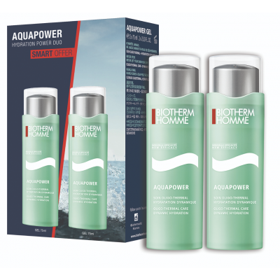 Biotherm Homme Aquapower Duo 2 x 75 ml