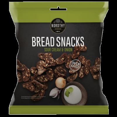 Nordthy Brood Snacks Sour Cream & Onion 75 g