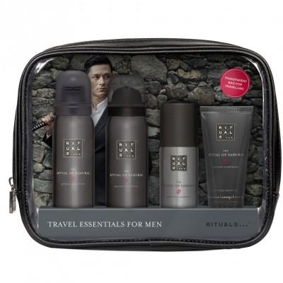 Rituals The Ritual Of Samurai Travel Essentials For Men 50 ml + 50 ml + 50 ml + 30 ml