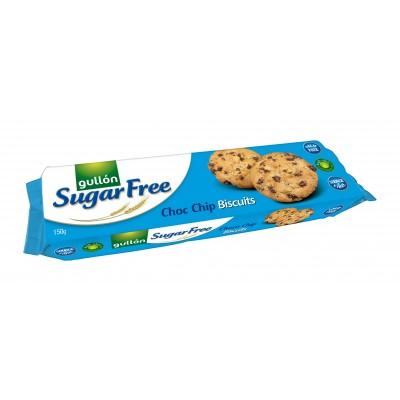 Gullón Sugar Free Choco Chip Biscuits 150 g