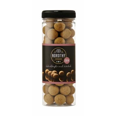 Nordthy Lakrisballer Med Sjokolade Sterk 300 g
