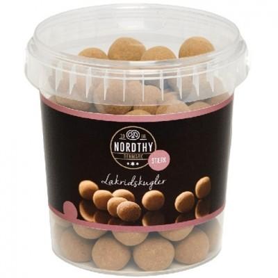 Nordthy Lakrisballer Med Sjokolade Sterk 500 g