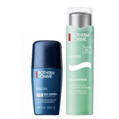 Biotherm Homme Aquapower Gel & Deo Roll On Set 100 ml + 75 ml