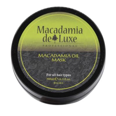 Macadamia De Luxe Macadamia Oil Mask 500 ml