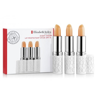 Elizabeth Arden Eight Hour Lip Protectant Stick Trio 3 x 3,7 g