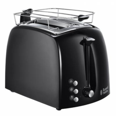 Russell Hobbs 22601-56 Textures Plus Toaster Black 1 stk