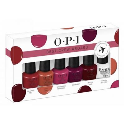 OPI Best Crew Aboard Nail Polish Set 6 x 3,75 ml