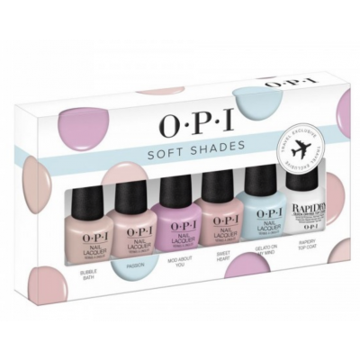 OPI Soft Shades Nail Polish Set 6 x 3,75 ml