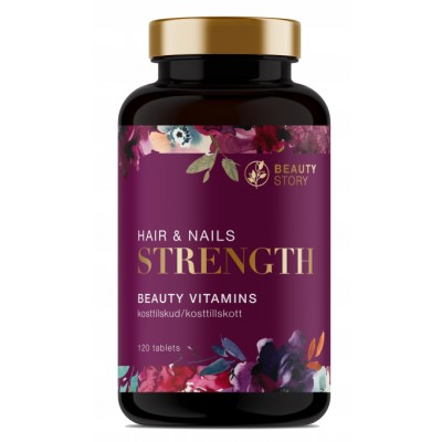 Beauty Story Hair & Nails Strength 120 pcs
