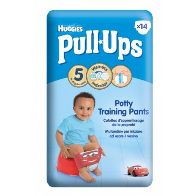 Huggies Pull Ups Potty Training Pants Medium 14 kpl
