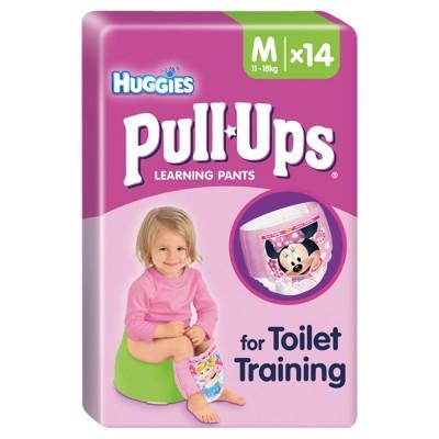 Huggies Pull Ups Toilet Training Learning Pants Medium 14 pcs