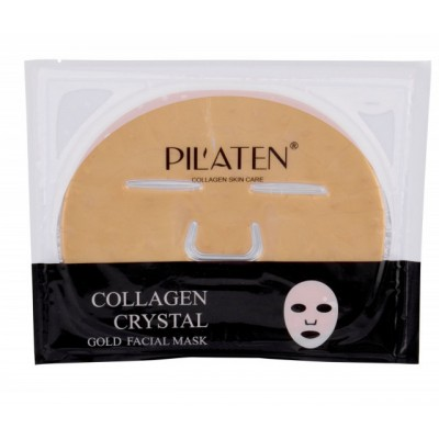 Pilaten Collagen Gold Crystal Facial Mask 1 kpl