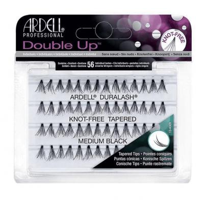 Ardell Double Up Individual False Lashes Knot-Free Medium Black 56 pcs