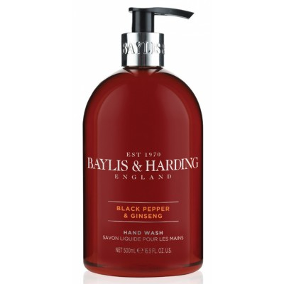 Baylis & Harding Black Pepper & Ginseng Hand Wash 500 ml