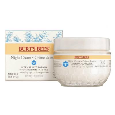 Burt's Bees Intense Hydration Night Creme Dry Skin 51 g