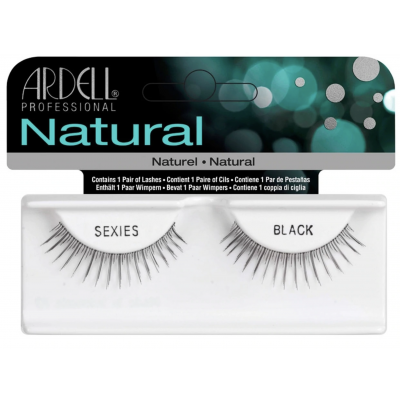 Ardell Natural Lashes Sexies Black 1 paar
