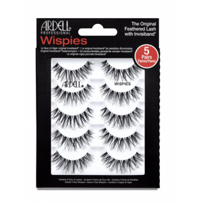 Ardell False Eyelashes Wispies Invisiband 5 par