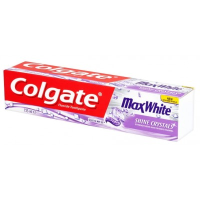 Colgate Max White Shine Crystals Tannkrem 125 ml