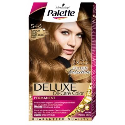 Schwarzkopf Palette Deluxe 546 Caramel Golden Blonde 1 stk
