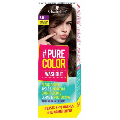 Schwarzkopf Pure Color Washout 5.0 Just Brown 1 st