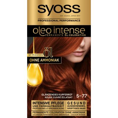 Syoss Oleo Intense 5.77 Shiny Copper Red 1 st
