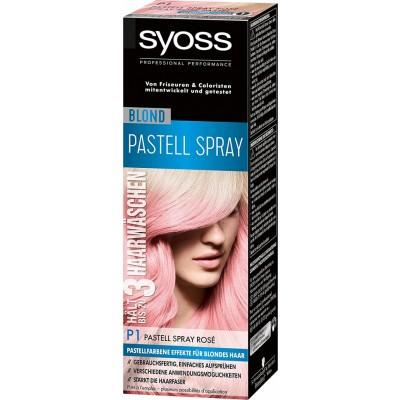 Syoss Pastel Touch Spray P1 Rosé 125 ml