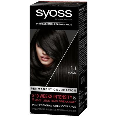 Syoss Salonplex 1.1 Black 1 stk