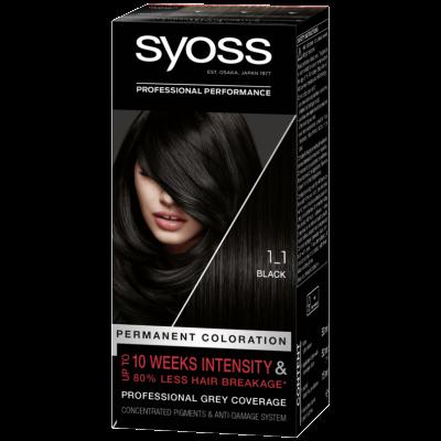 Syoss Salonplex 1.1 Black 1 st
