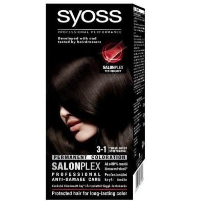 Syoss Salonplex 3.1 Dark Brown 1 stk