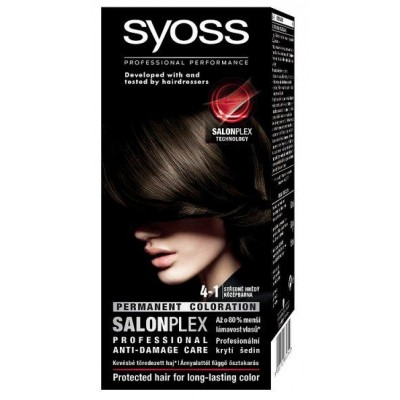Syoss Salonplex 4.1 Brown 1 kpl