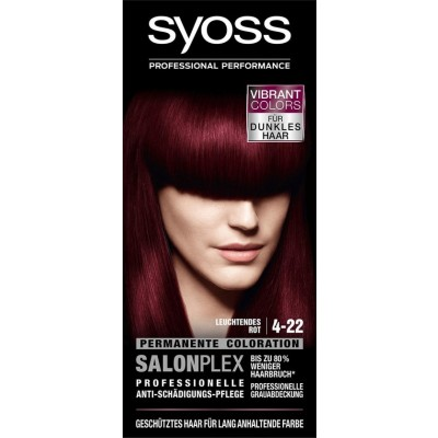 Syoss Salonplex 4.22 Bright Red 1 stk