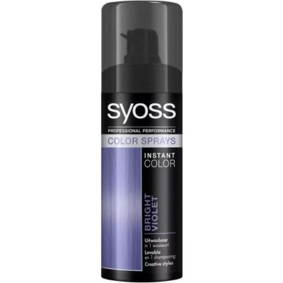 Syoss Instant Color Spray Bright Violet 120 ml